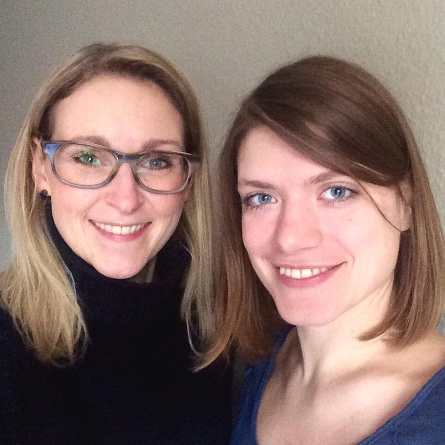 Erdmuthe and Vanessa ambassadors