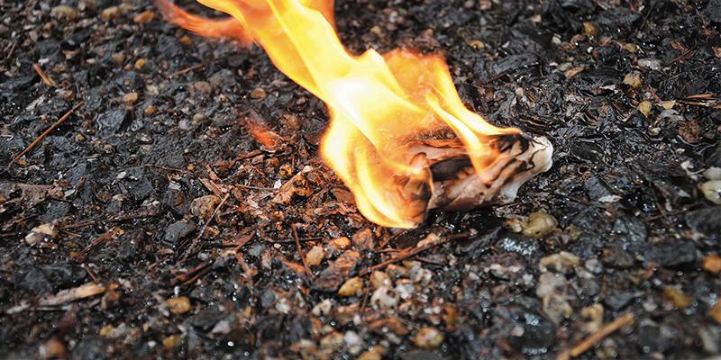Burning pads - Source: shriramminc.com/sanitary-pad-burning-machine/